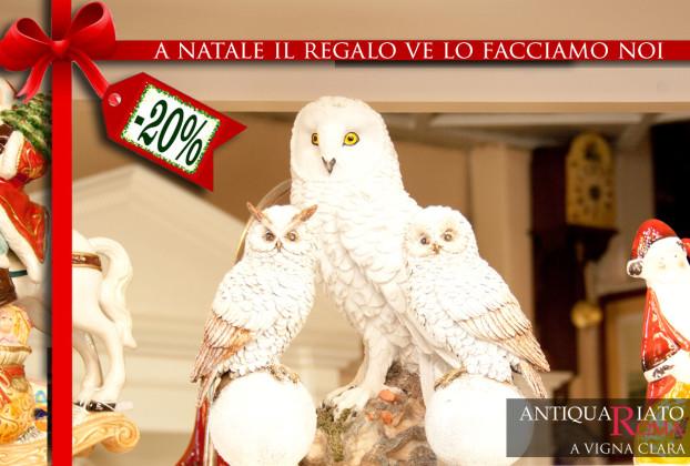 Arredo natalizio Roma VignaClara