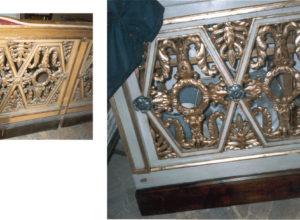 Restauri di mobili antichi realizzati a Palazzo Spada