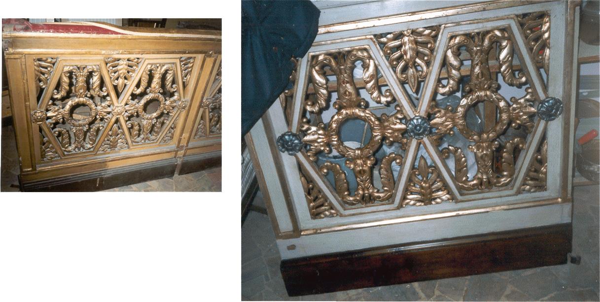 Restauri di mobili antichi realizzati a palazzo spada for Regalo mobili antichi